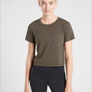 Athleta Organic Daily Crop Tee
